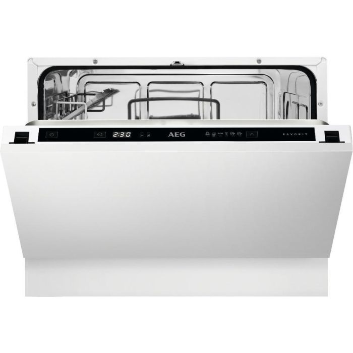 AEG Built In Compact Dishwasher FSE21200P - Fully Integrated Image 1
