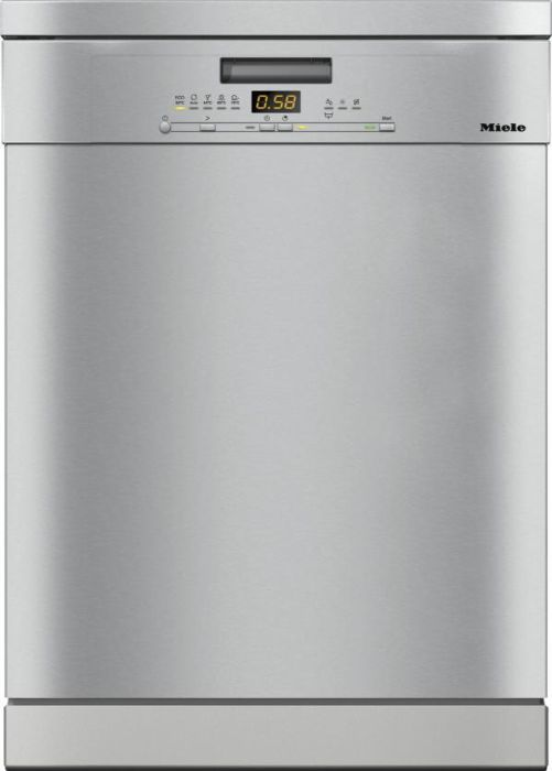 Miele Freestanding 60 Cm Dishwasher G5000SC-CLST - Clean Steel Image 1