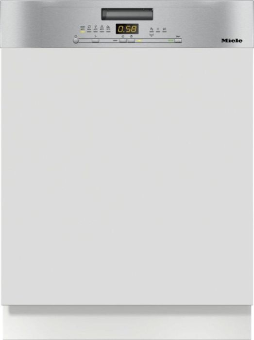 Miele Built In 60 Cm Dishwasher Semi G5000SCI-CLST - Clean Steel Image 1
