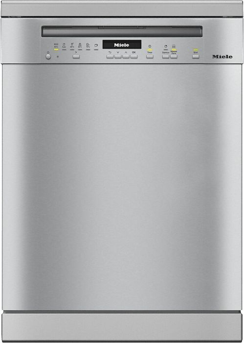 Miele Freestanding 60 Cm Dishwasher G7100SC-CLST - Clean Steel Image 1