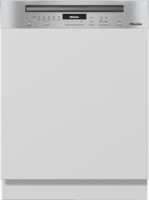 Miele Built In 60 Cm Dishwasher Semi G7100SCI-CLST - Clean Steel Image 1