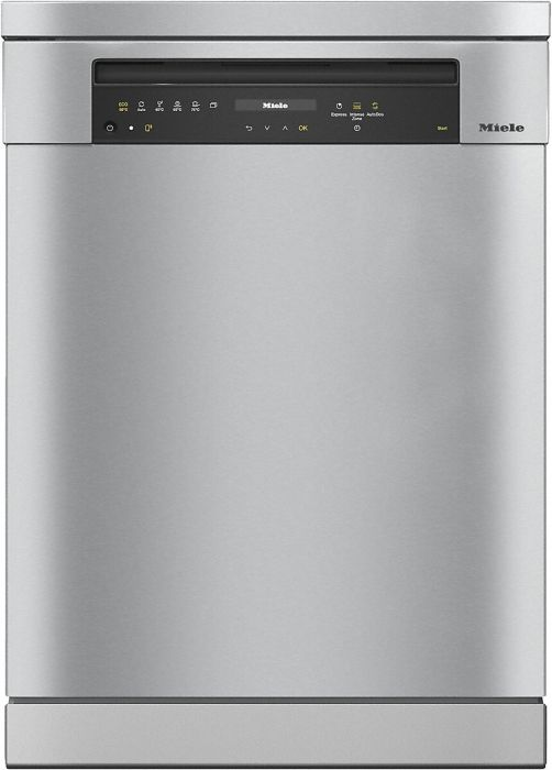 Miele Freestanding 60 Cm Dishwasher G7310SC-CLST - Clean Steel Image 1