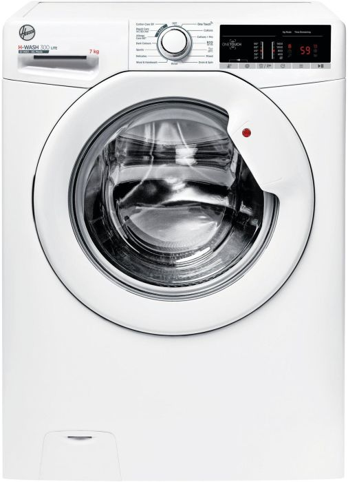 Hoover Freestanding Washing Machine H3W47TE - White Image 1