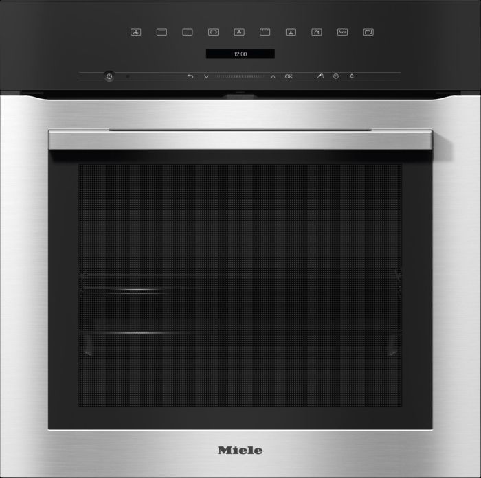 Miele Single Oven Electric H7162BP - Clean Steel Image 1