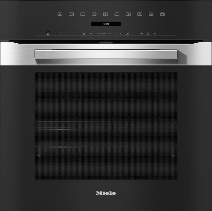 Miele Single Oven Electric H7262BP - Clean Steel Image 1