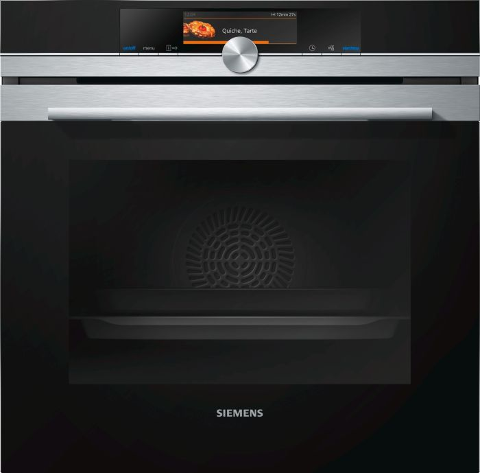 Siemens Single Oven Electric HB678GBS6B - Stainless Steel Image 1