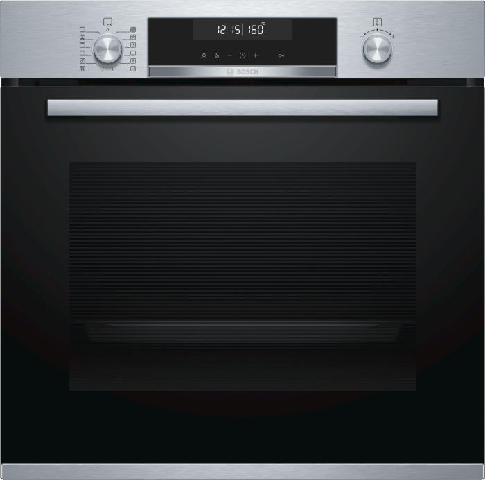 Bosch Single Oven Electric HBG5585S6B - Stainless Steel Image 1