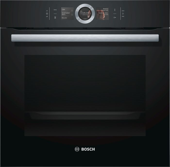 Bosch Single Oven Electric HBG6764B6B - Black Image 1