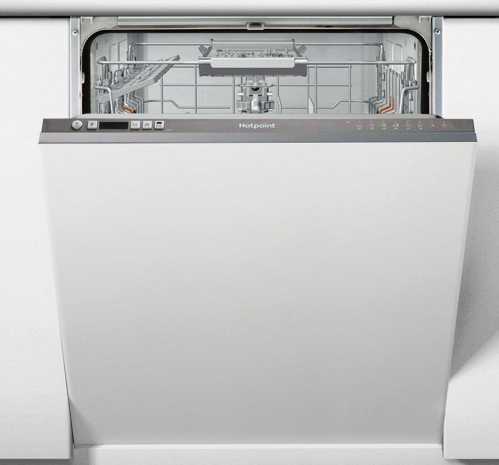 Hotpoint Built In 60 Cm Dishwasher Fully HIC3B19UK - Fully Integrated Image 1
