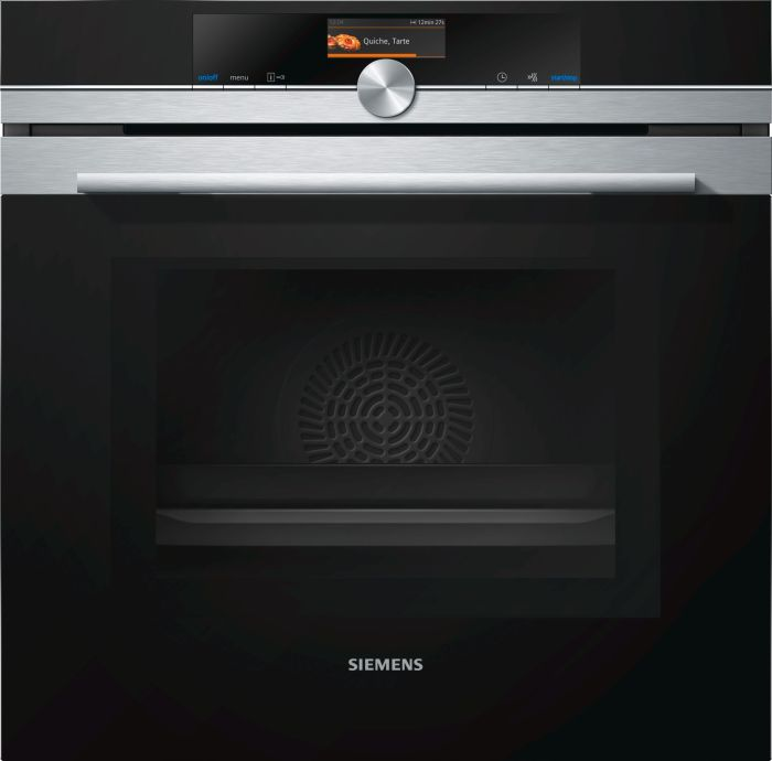 Siemens Single Oven Electric HM676G0S6B - Stainless Steel Image 1