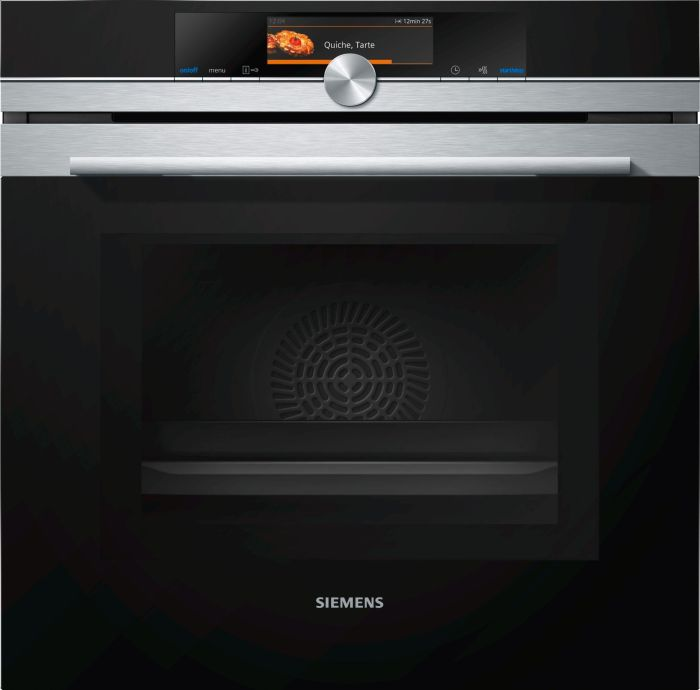 Siemens Single Oven Electric HM678G4S6B - Stainless Steel Image 1