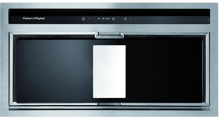 Fisher & Paykel Canopy Hood HP60IHCB3 - Stainless Steel / Black Image 1