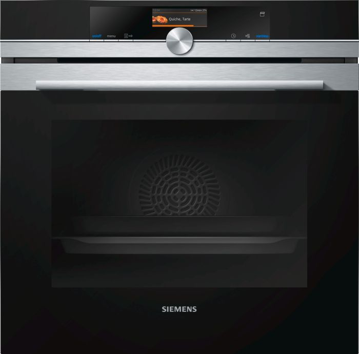 Siemens Single Oven Electric HR676GBS6B - Stainless Steel Image 1