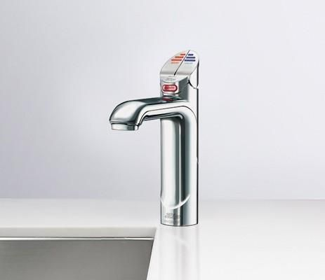 Zip Boiling Hot Water Tap HT1784Z3UK - Matt Black Image 1