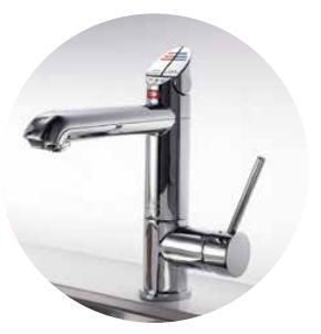 Zip Boiling Hot Water Tap HT1792Z1UK - Brushed Chrome Image 1