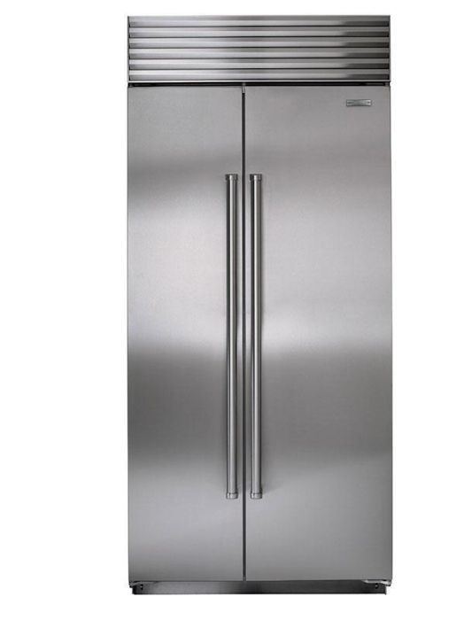 Sub-Zero Built In American Style Refrigeration ICBBI36S-S-PH - Stainless Steel Image 1