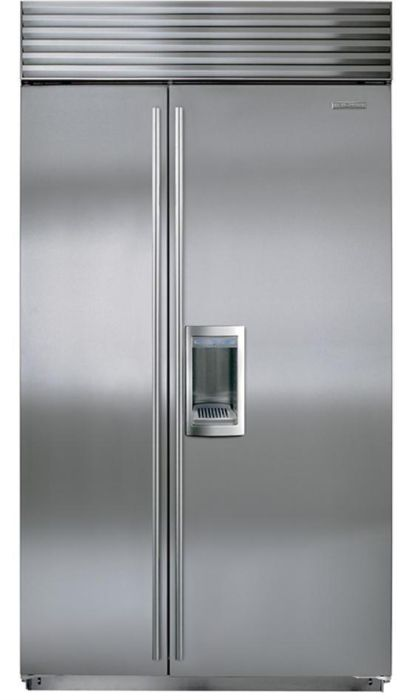 Sub-Zero Built In American Style Refrigeration ICBBI42SD-S-TH - Stainless Steel Image 1