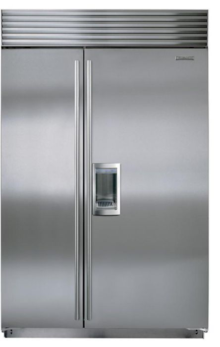 Sub-Zero Built In American Style Refrigeration ICBBI48SD-S-TH - Stainless Steel Image 1
