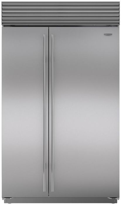 Sub-Zero Built In American Style Refrigeration ICBBI48SID-S-TH - Stainless Steel Image 1