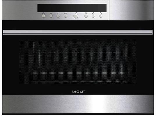 Wolf Steam Combi Oven ICBCSO24TE-S-TH - Stainless Steel Image 1
