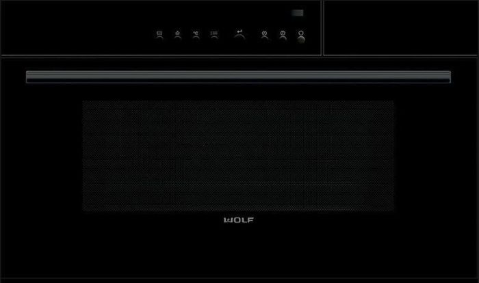 Wolf Steam Combi Oven ICBCSO30CM-B-TH - Black Image 1