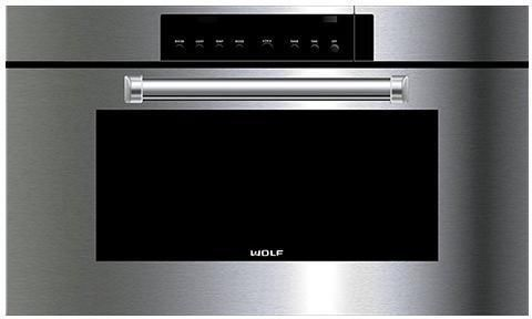 Wolf Steam Combi Oven ICBCSO30PM-S-PH - Stainless Steel Image 1