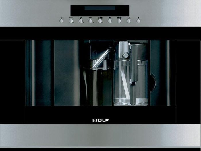 Wolf Coffee Machine ICBEC24-S - Stainless Steel Image 1