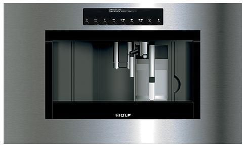 Wolf Coffee Machine ICBEC30PM-B - Stainless Steel Image 1