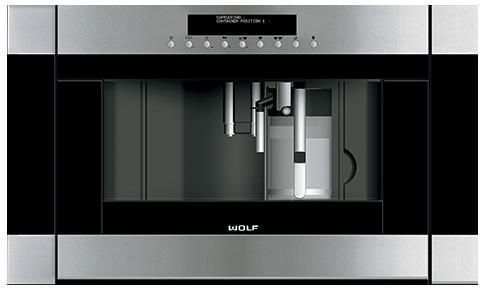 Wolf Coffee Machine ICBEC30TE-B - Stainless Steel Image 1