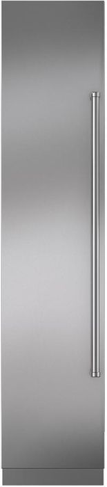 Sub-Zero Built In Upright Freezer Frost Free ICBIC-18FI-LH - Integrated Image 1