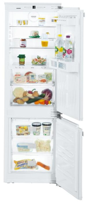 Liebherr Built In Fridge Freezer Frost Free ICBN3324 - Fully Integrated Image 1