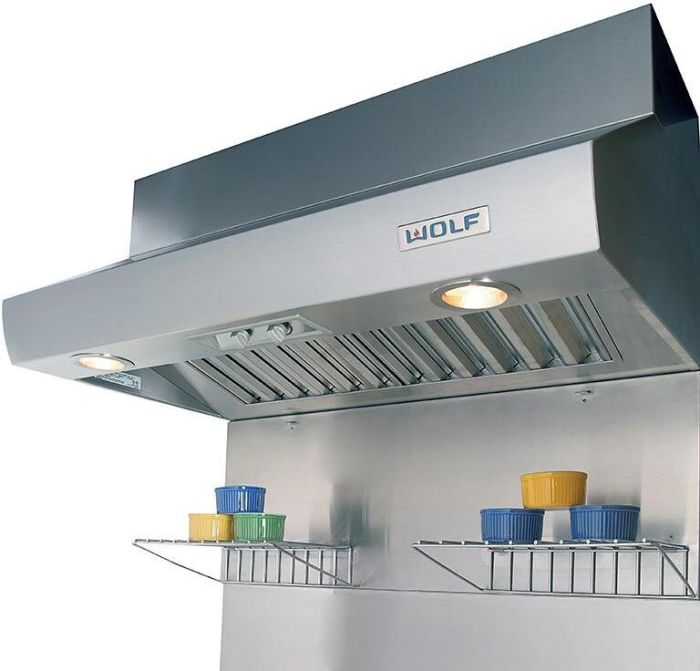 Wolf Wall Mounted Hood ICBPW362418 - Stainless Steel Image 1