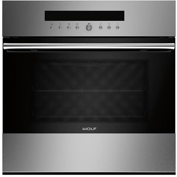 Wolf Single Oven Electric ICBSO24TE-S-TH - Stainless Steel Image 1