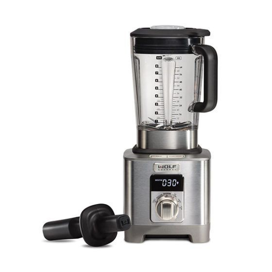 Wolf Blender ICBWGBL120S-UK - Stainless Steel / Silver Knob Image 1