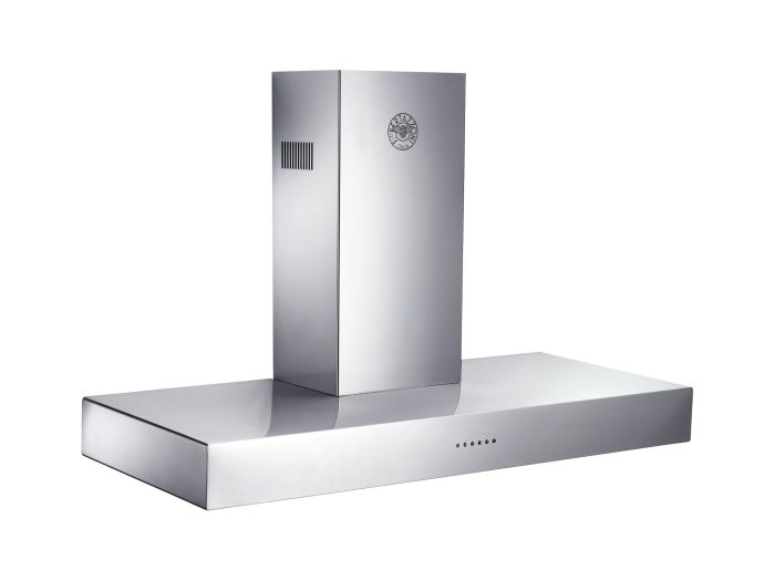 Bertazzoni Chimney Hood K100-CON-X-A - Stainless Steel Image 1