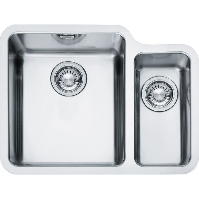 Franke 1.5 Bowl Sink KBX16034RSB - Stainless Steel Image 1