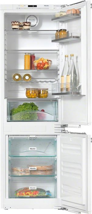 Miele Built In Fridge Freezer Frost Free KFN37432ID - Fully Integrated Image 1