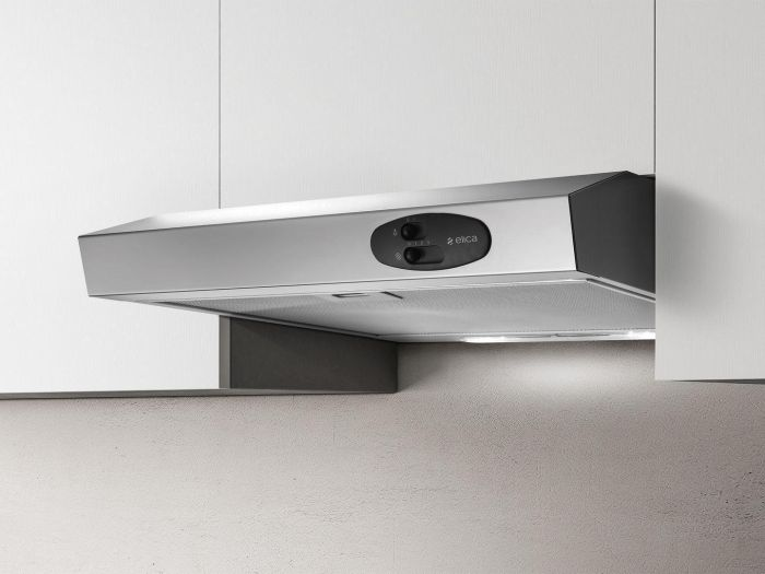 Elica Conventional Hood KREA-LUX-60 - Stainless Steel Image 1