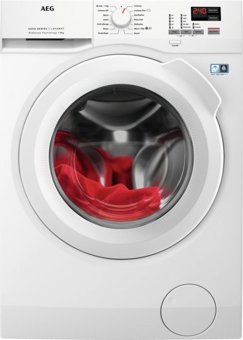 AEG Freestanding Washing Machine L6FBK841N - White Image 1