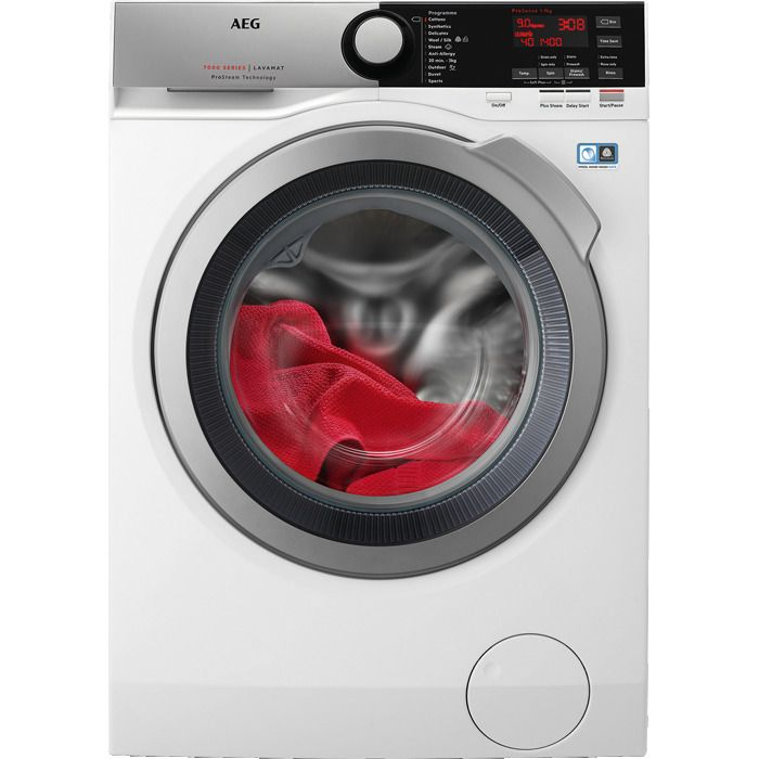 AEG Freestanding Washing Machine L7FEE965R - White Image 1