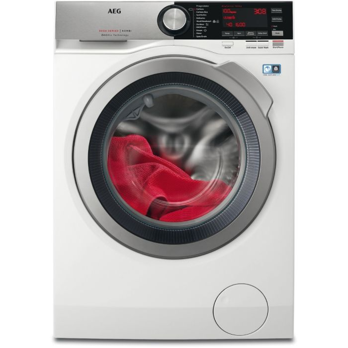AEG Freestanding Washer Dryer L8WEC166R - White Image 1