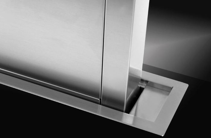 Westin Down Draft Extractor LISSER-FLUSH-1180-SS - Stainless Steel Image 1