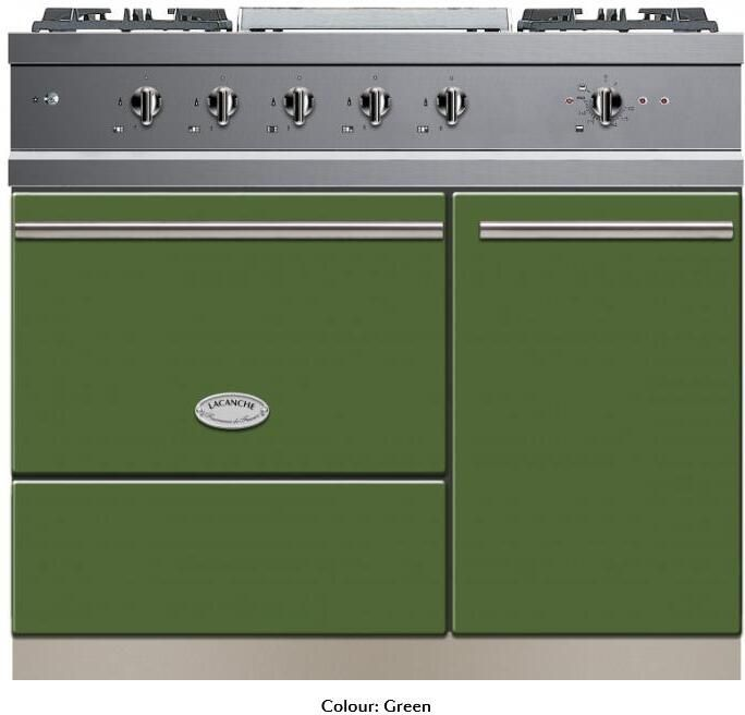 Lacanche Range Cooker Dual Fuel LMCF1051GD - Various Colours Image 1