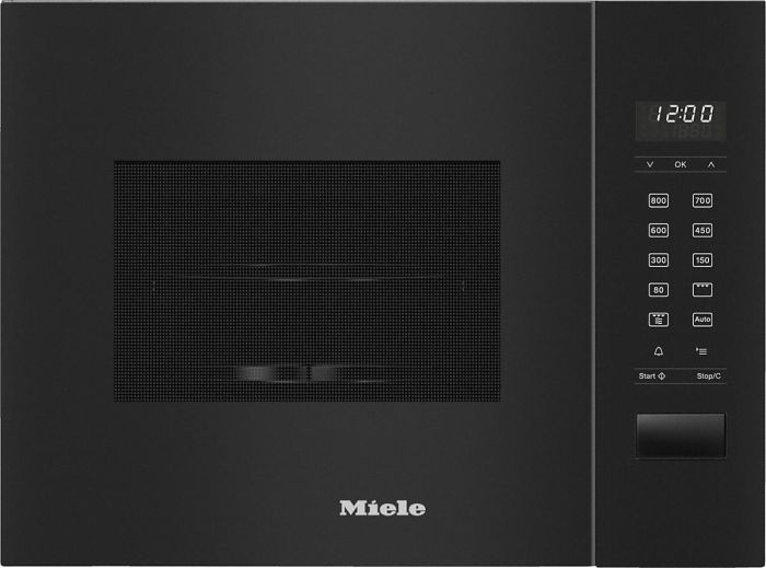 Miele Microwave & Grill M2224SC - Obsidian Black Image 1