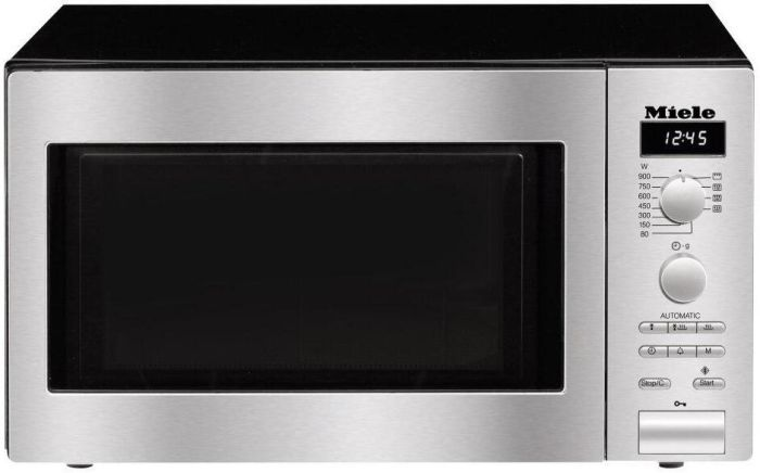 Miele Microwave & Grill M6012-CLST - Cleansteel Image 1