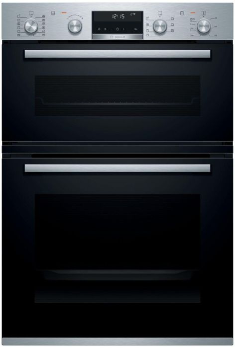 Bosch Double B/I Oven Electric MBA5785S6B - Stainless Steel Image 1