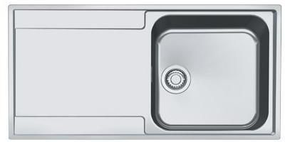 Franke 1.0 Bowl Sink MRX211RC - Stainless Steel Image 1