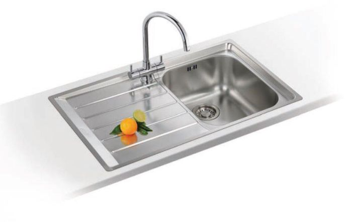 Franke 1.0 Bowl Sink NEX211LATCPK - Stainless Steel Image 1