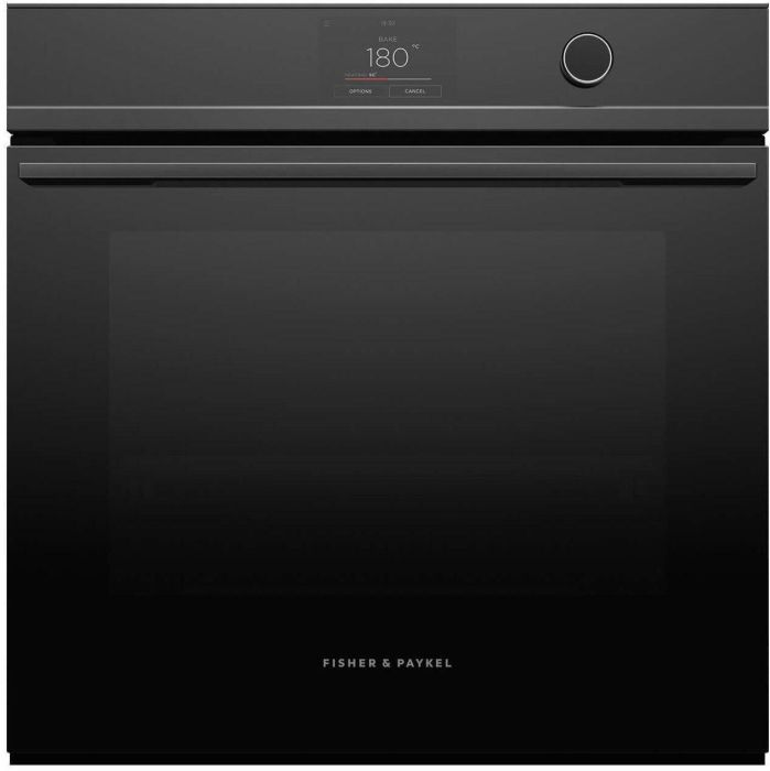 Fisher & Paykel Single Oven Electric OB60SDPTDB1 - Black Image 1