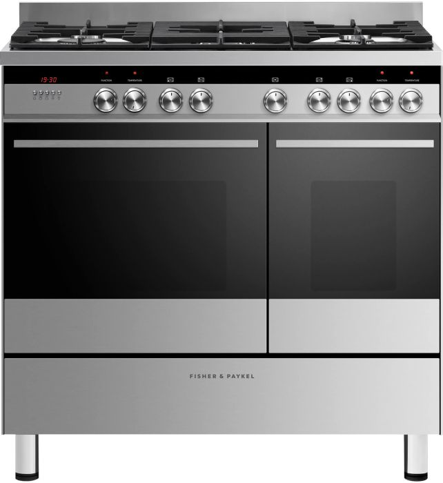 Fisher & Paykel Range Cooker Dual Fuel OR90L7DBGFX1 - Stainless Steel Image 1
